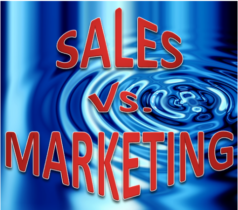 sales vs. marketing