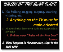 rules of a man cave
