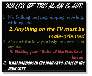 Rules of the Man Cave