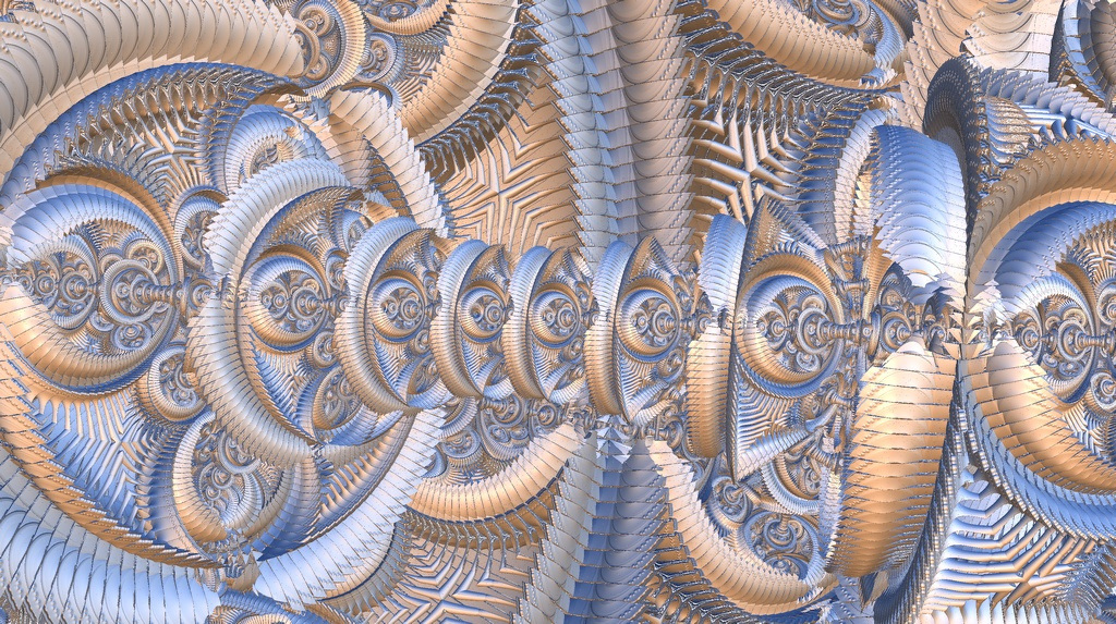 fractal art, abstract art, trippy art
