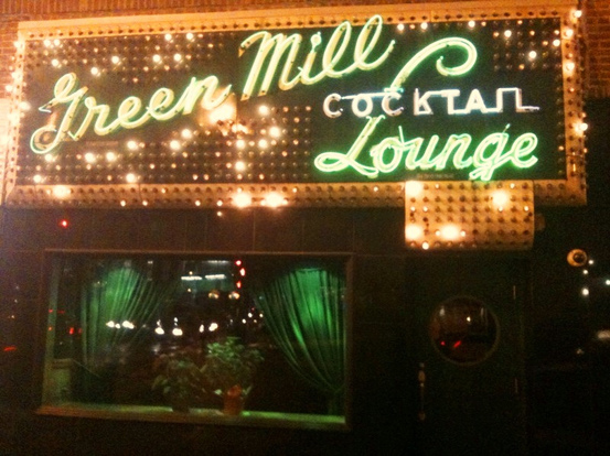green mill lounge, poetry slam